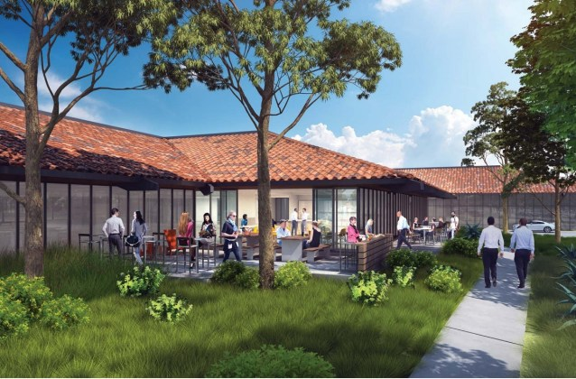 Orchard Partners, Barco, Tasman Tech campus, Fremont, Colliers, CBRE, Studio G Architects, HMH Landscape Architects, Southbay Construction, Coyote Creek, Lionstone Investments, Bay Area, Western United States,