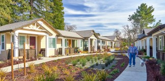 Alameda County, Pleasanton, Kottinger Gardens, MidPen Housing Corporation, East Bay Housing Organization's (EBHO) 2018 Affordable Housing Week, Kottinger Place Redevelopment Task Force, City Council, Parks Commission, Housing Commission, Kottinger Drive, Kottinger Village Park, City of Pleasanton