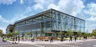 23andMe, Mountain View, Silicon Valley Business Journal, Spear Street Capital, SmithGroupJJR, Mathilda Avenue, West California Avenue, Sunnyvale, Caltrain, Peery Park Specific Plan, Sequoia Capital, National Institutes of Health, Johnson & Johnson