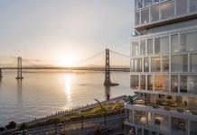John Buck Company, Paramount Group, SRE Group, One Steuart Lane, Bay Bridge, Ferry Building, SOM, Rottet Studio, West Coast, San Francisco