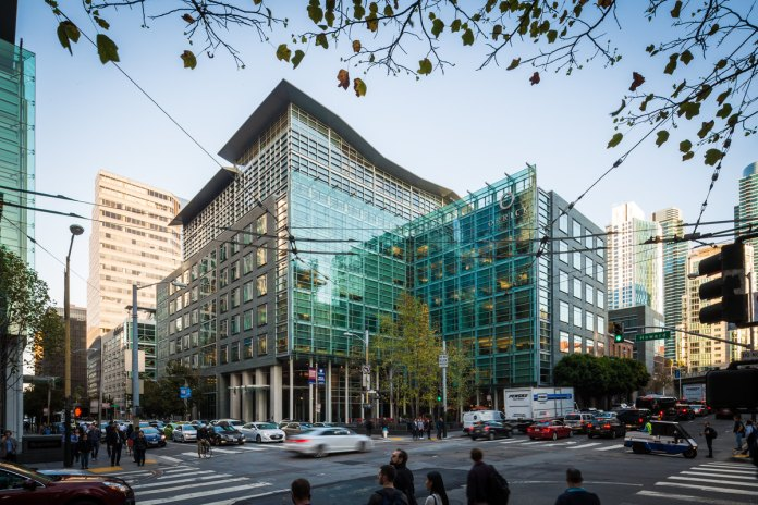 Bay Area, LEED, Norges Bank Investment Management, TH Real Estate, Orrick Building, Embarcadero Center, Foundry Square II, 405 Howard, San Francisco, PwC, Transbay Terminal
