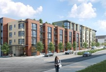 Legacy Partners, Baxter on Broadway, Oakland, Bay Area, Claremont Country Club, Blue Bottle Coffee, Fentons Creamery, California College of the Arts, BART, SRM Development, USAA Real Estate