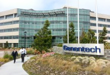Genentech, San Francisco, San Mateo, Roche, Irvine, HCP, Foster City, San Jose, Northern California, East Grand Avenue, life science