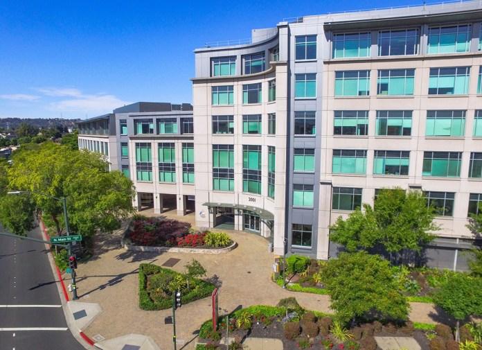 Hines, Oaktree Capital Management, Ygnacio Center, Walnut Creek, BART, California