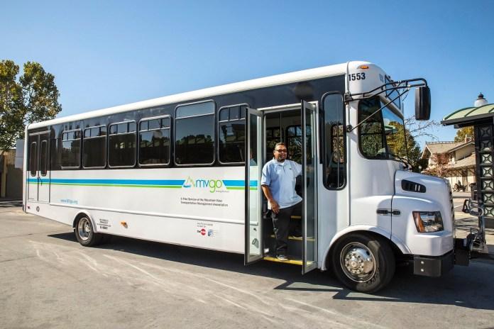 Mountain View Transportation Management Association, Lyft, Uber, Sares Regis Group, Mountain View Transit Center, MVgo