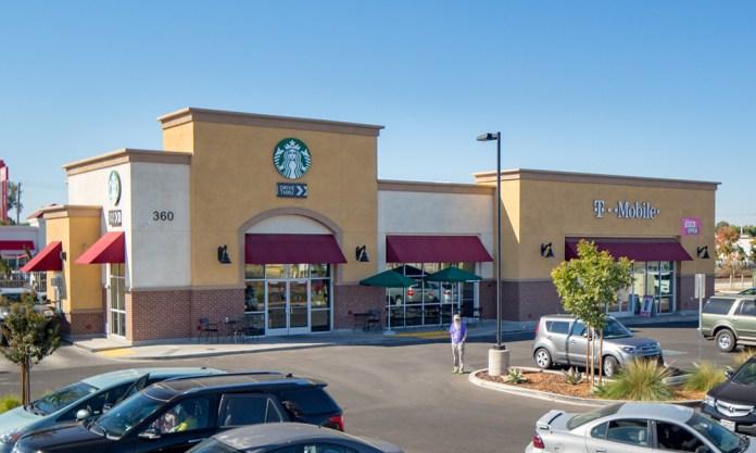 Hanley Investment Group Real Estate Advisors, Starbucks, T-Mobile, Merced, Bakersfield, Ares Commercial Properties, Novato, Starboard Commercial Real Estate, San Francisco