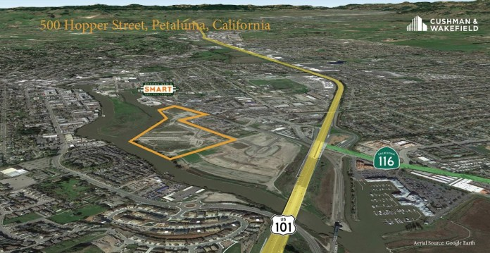 Cushman & Wakefield, North Bay, Silicon Valley, Bay West Development, Petaluma, Scannell Properties, Sonoma, Marin, SMART