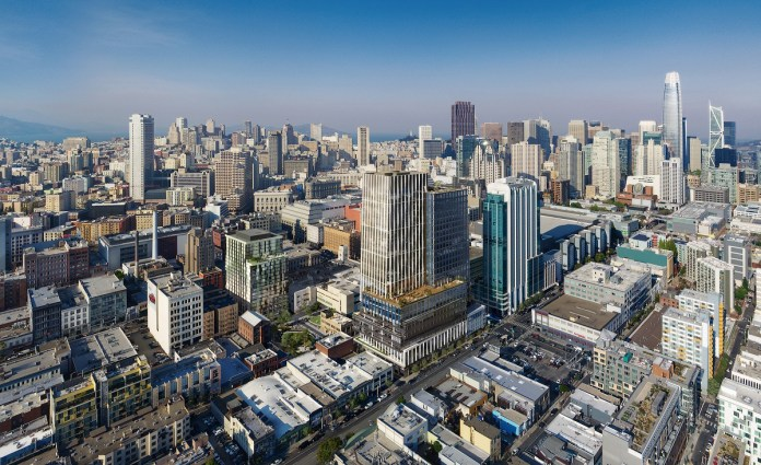 San Francisco, Brookfield Properties, Hearst, SoMa, Tenderloin Neighborhood Development Corp, Community Arts Stabilization Trust, ITELAB Urban Studio. !melk, Cliff Lowe Associates, Kohn Pederson Fox, House & Robertson Architects