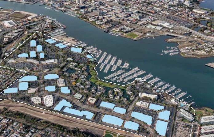Marina Village Alameda DRA Advistors Local Capital Group Cost Plus World Market CBRE JLL commercial real estate headquarters