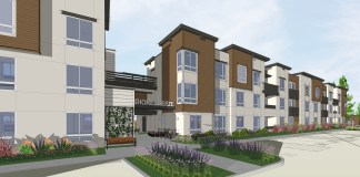 Mountain View, Housing Trust of Silicon Valley, Shorebreeze Apartments, MidPen Housing, Silicon Valley, San Francisco, Bay Area, Caltrain, Santa Clara County Housing Authority, DAHLIN Group Architects, CORE Builders, Union Bank