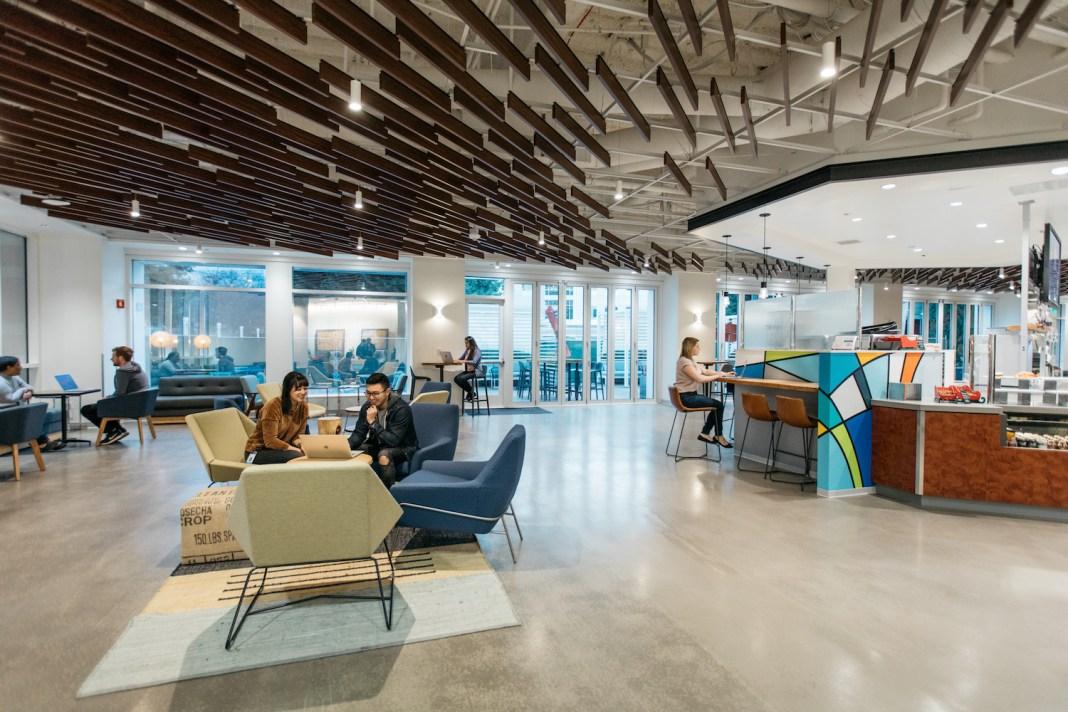 PayPal eBay San Jose Building 15 HGA Architects SWA AP+I Design Silicon Valley