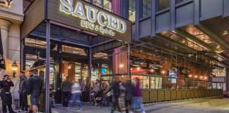 Santana Row, San Jose, Sauced BBQ & Spirits, Zazil