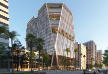 Almaden Boulevard Tower, J.P. DiNapoli Companies, Gensler, Jay Paul, Adobe, San Jose