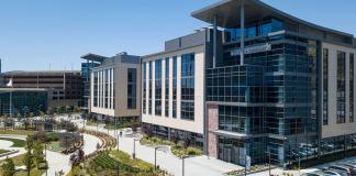South San Francisco, Sutro Biopharma, Five Prime Therapeutics, The Cove at Oyster Point, Healthpeak Properties, Kidder Mathews