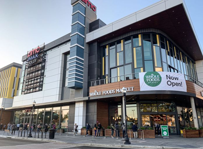 Sunnyvale, Whole Foods, AMC Theaters, CityLine, Hunter Storm, Sares Regis