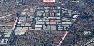 Omni Logistics, CBRE, Union City, Cushman & Wakefield, James Campbell Estate