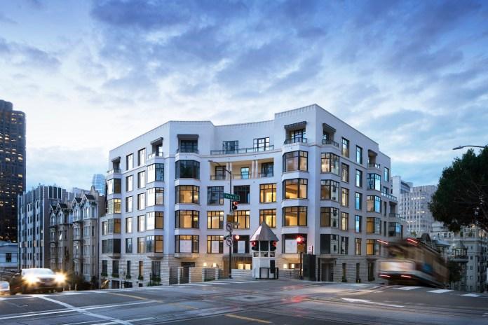 Grosvenor Americas, Crescent, Nob Hill, San Francisco, Robert A.M. Stern Architects, Champalimaud Design