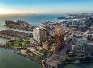 Tishman Speyer, Mission Rock, San Francisco, Port of San Francisco, San Francisco Giants, WORKac, Bellco Capital, Breakthrough Properties
