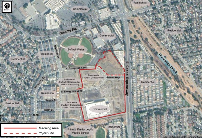 City of San Jose, Evergreen Circle, 2367 South Evergreen Loop, The Arcadia Companies, Hunter Storm