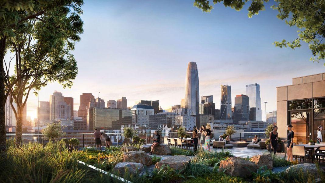 Urban Land Development 531 Bryant San Francisco Urban Land Capital SoMa Handel Architects JLL office leasing