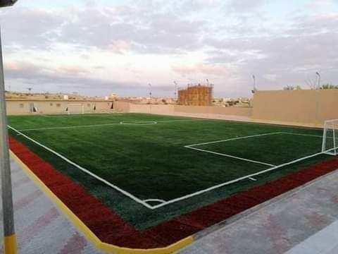 نادي الباروني بمنطقة جادو بليبيا يحتفل بملعبه الجديد