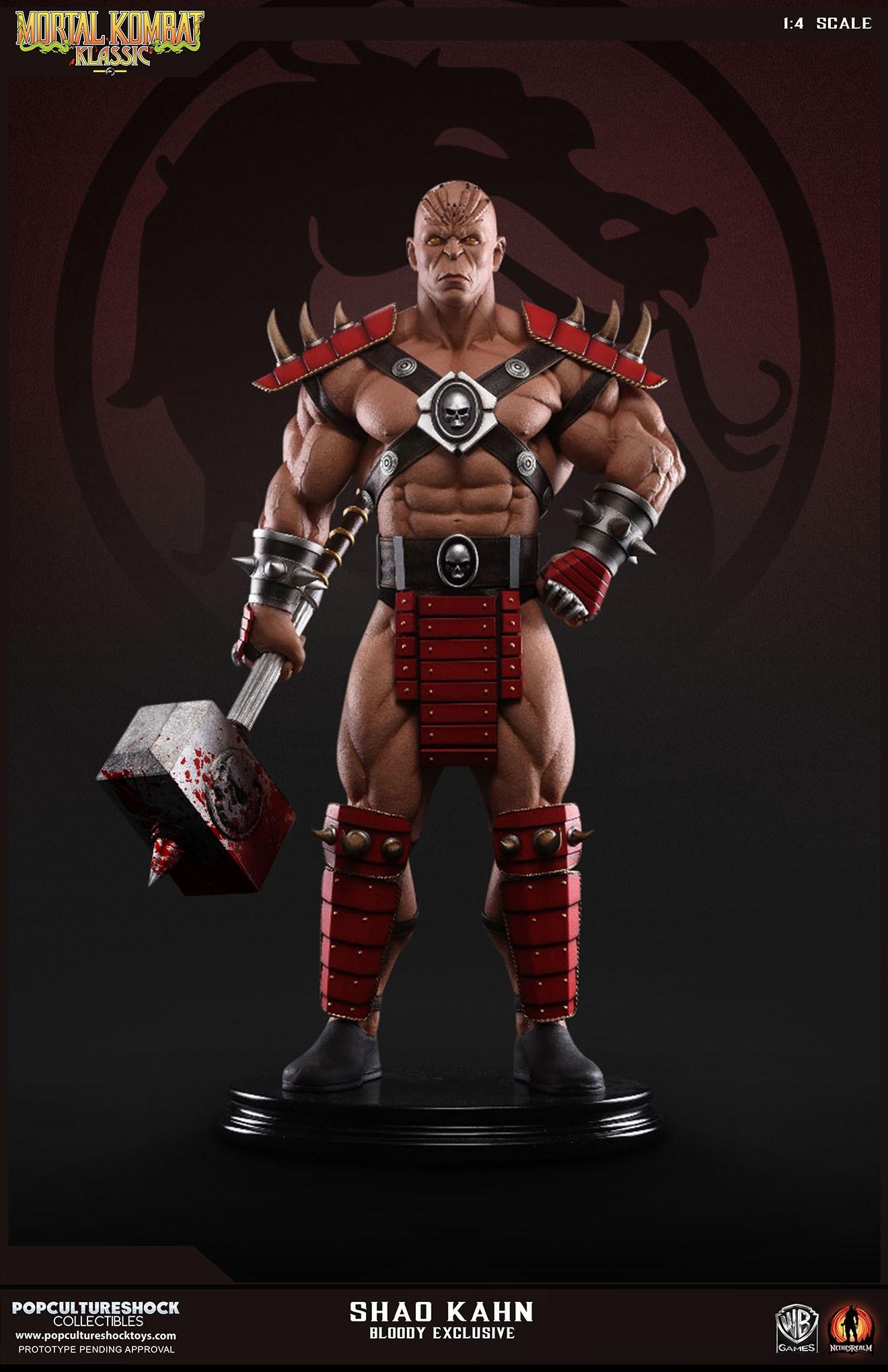 PCS Mortal Kombat Shao Kahn Bloody 002