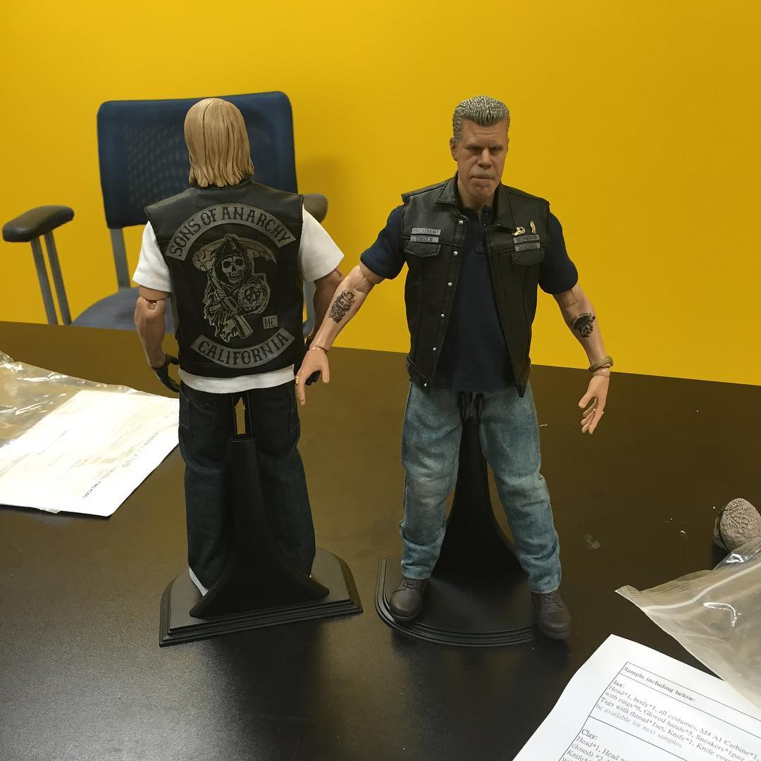 PCS Sons of Anarchy Figures 1