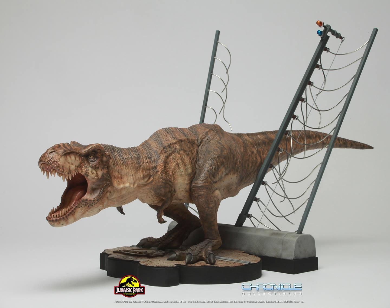 Jurassic Park T Rex Breakout Diorama 005