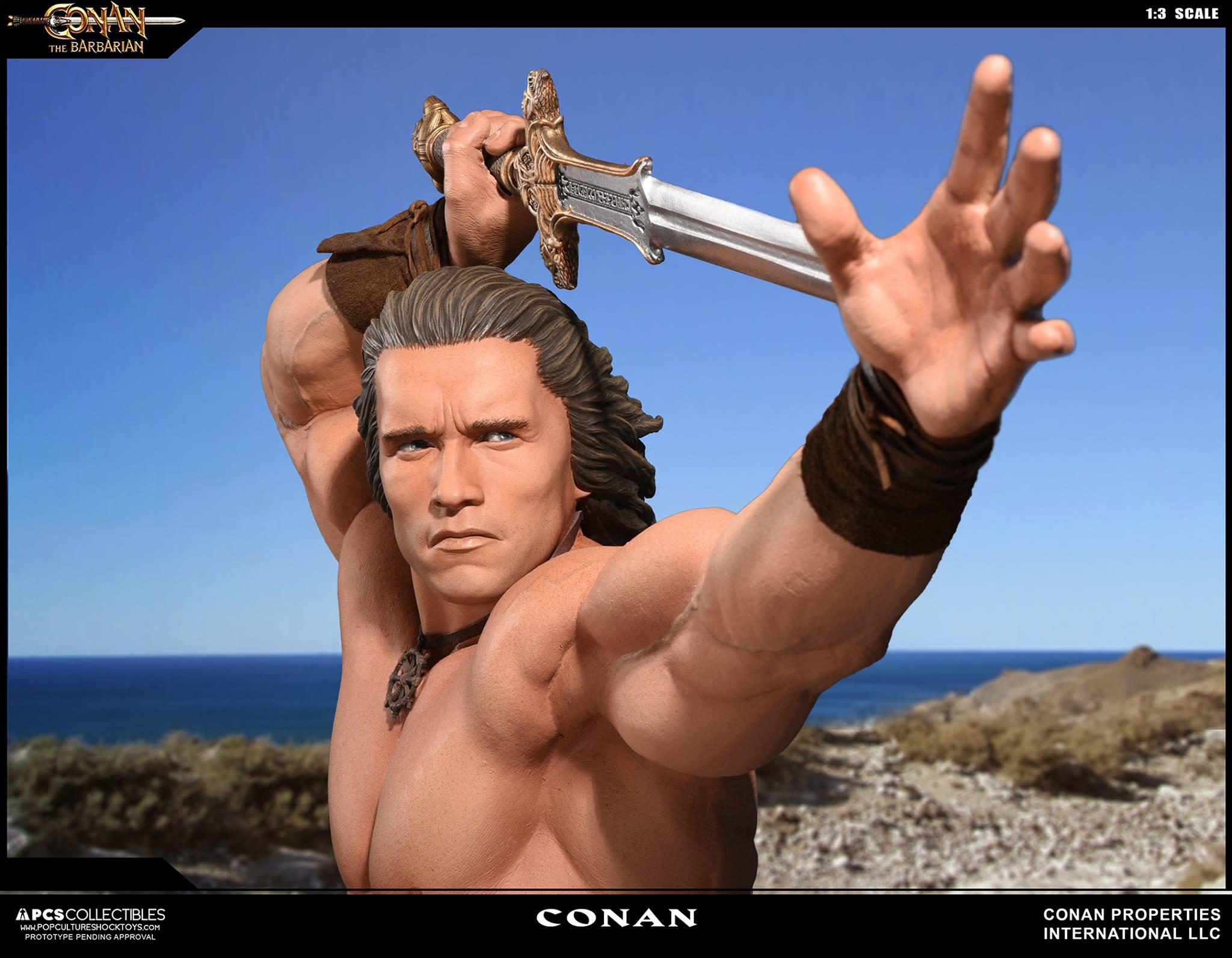 PCS Conan Statue 007