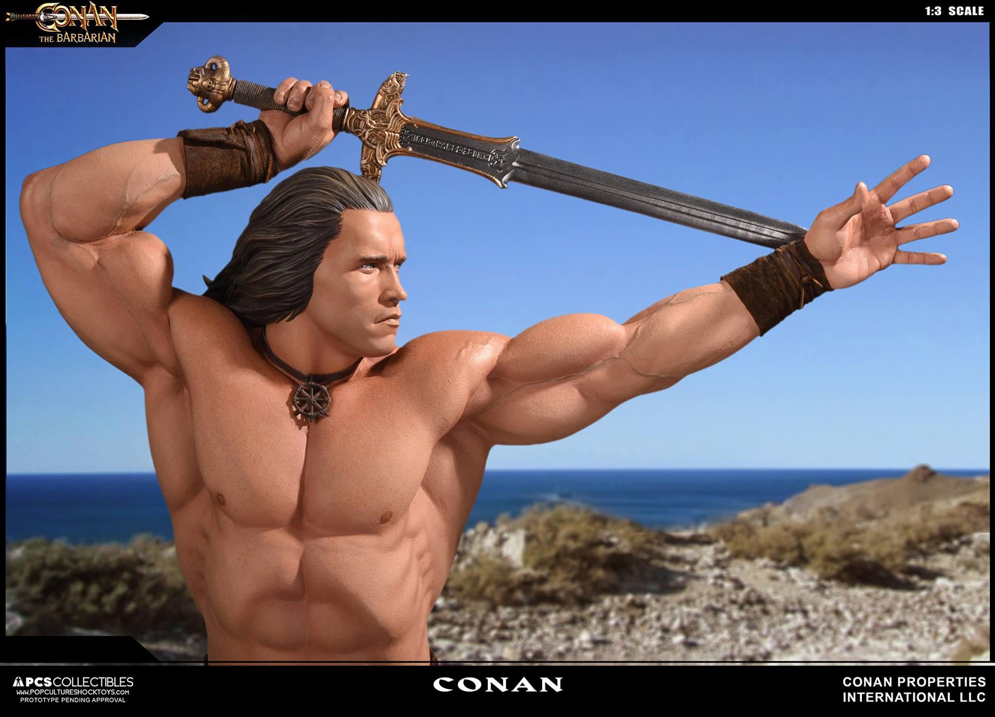 PCS Conan Statue 008