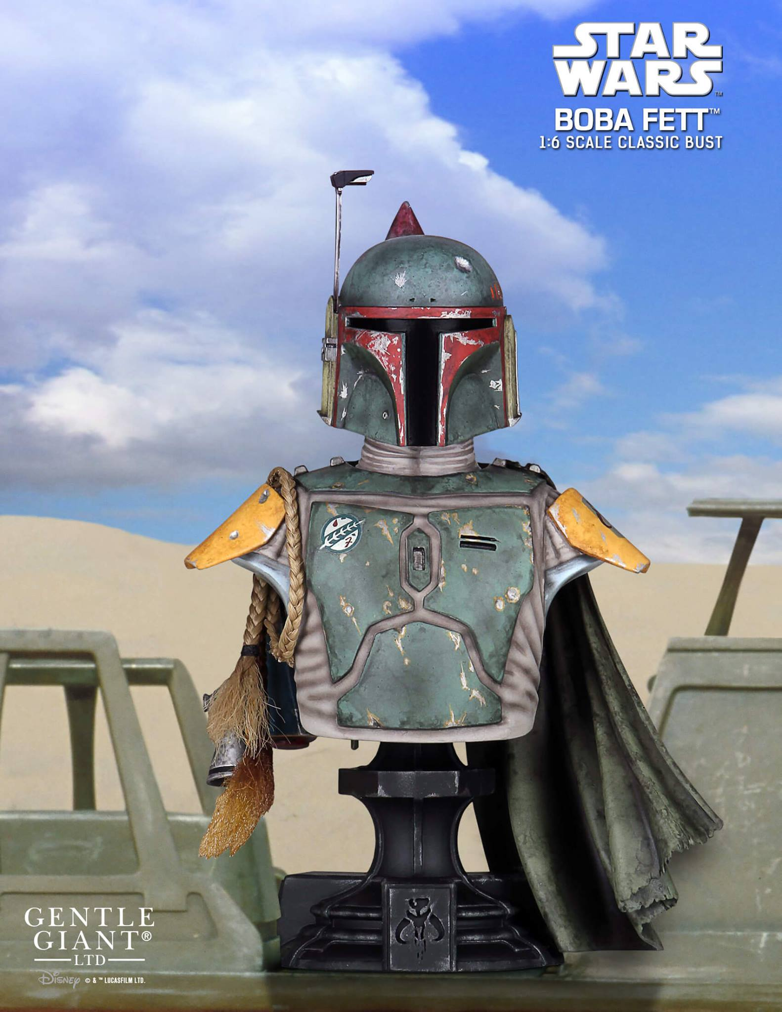 Gentle Giant Boba Fett Mini Bust 001