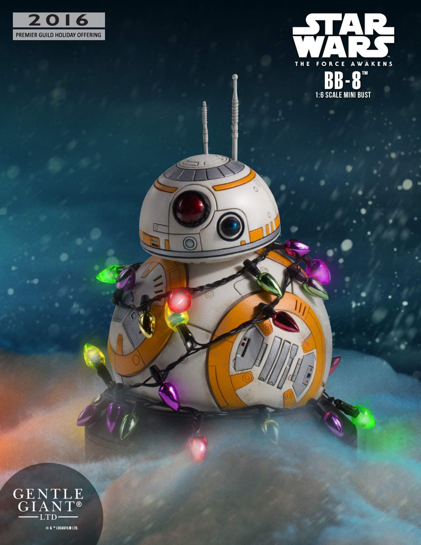 Gentle Giant Star Wars BB 8 Holiday Gift 001