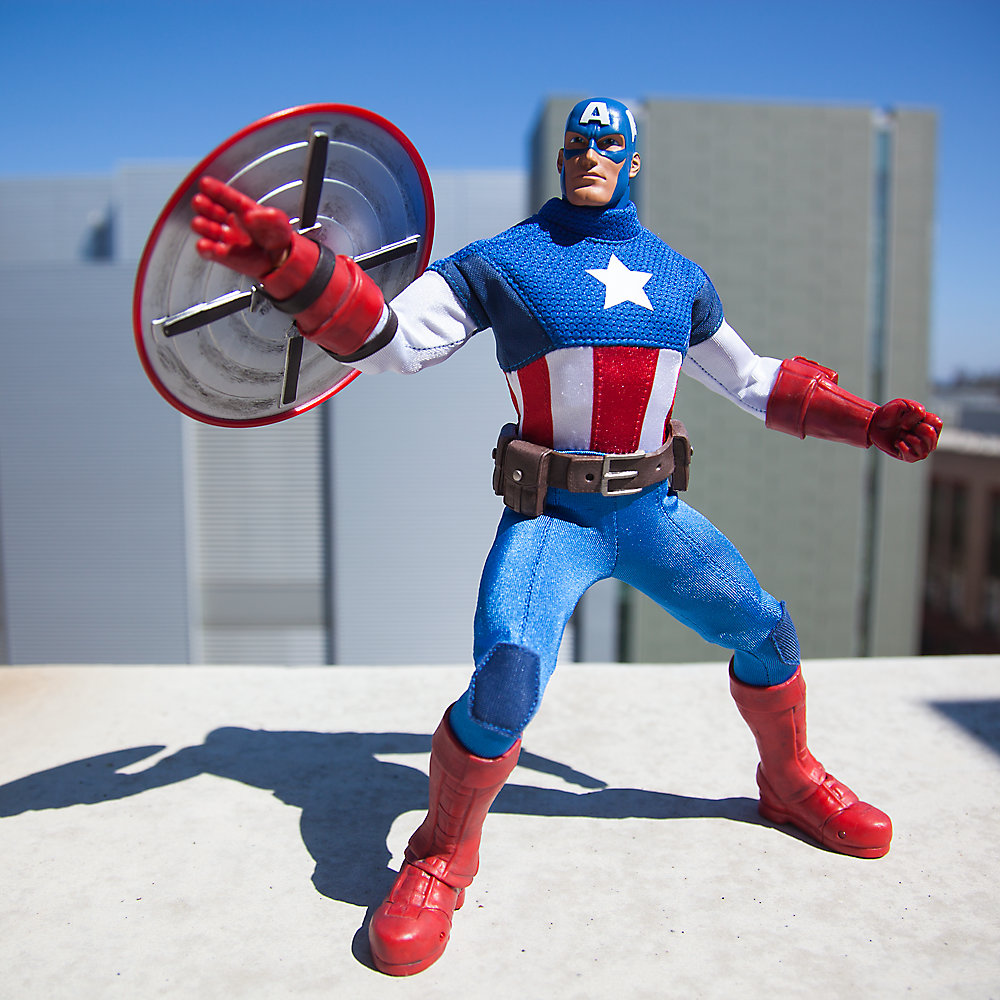 Marvel Ultimate Series Captain America 001