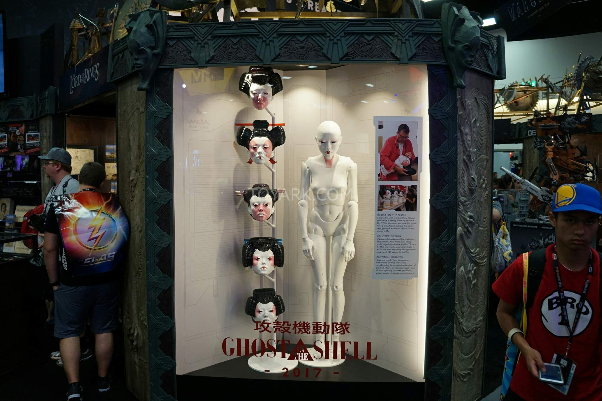 Image result for ghost in the shell robota sdcc 2016