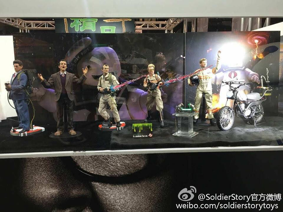 Soldier Story Ghostbusters Display 1