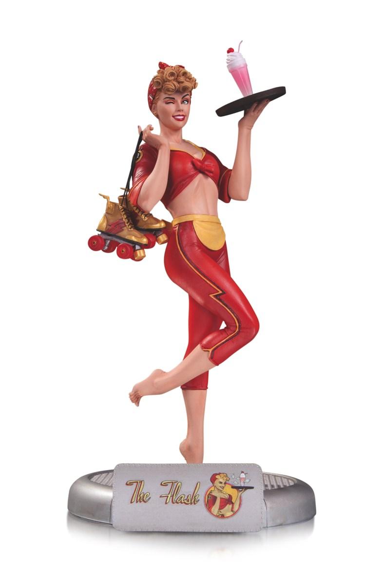 DCC DC Bombshells Jesse Quick Flash Statue