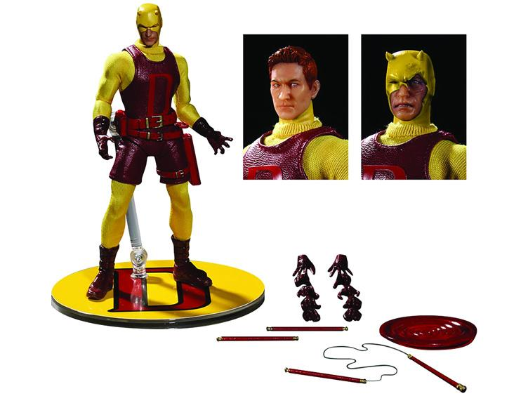Mezco One12 Collective Yellow Daredevil