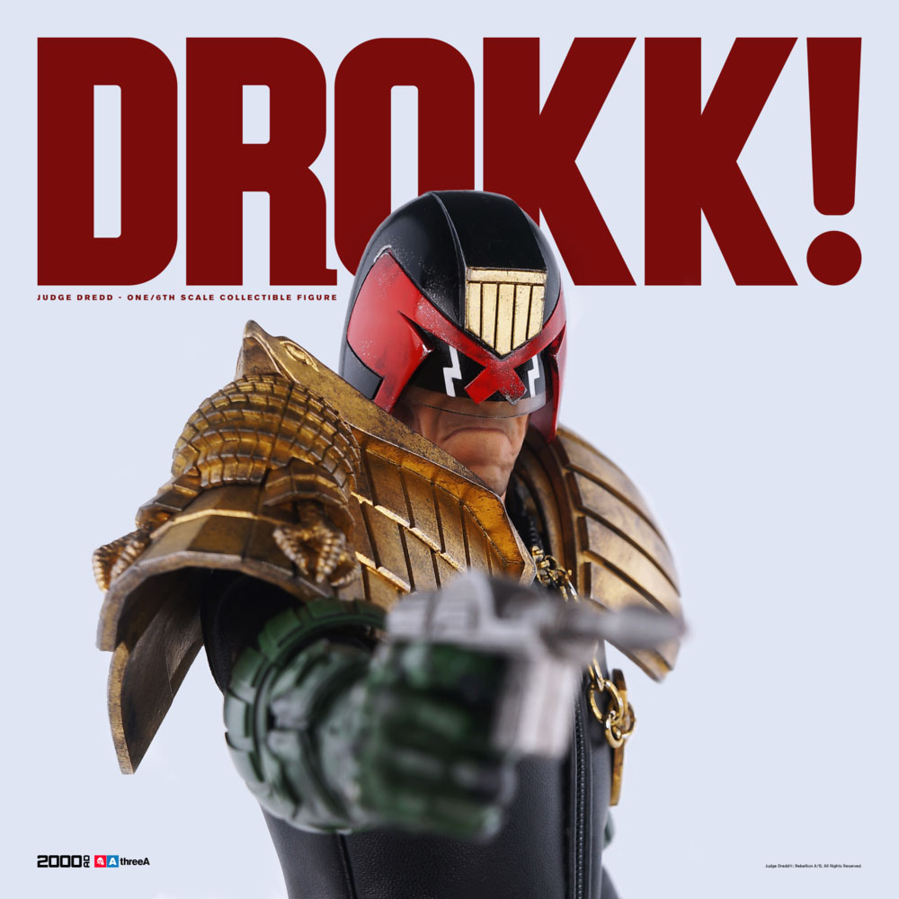 3A Judge Dredd Sixth Scale 006