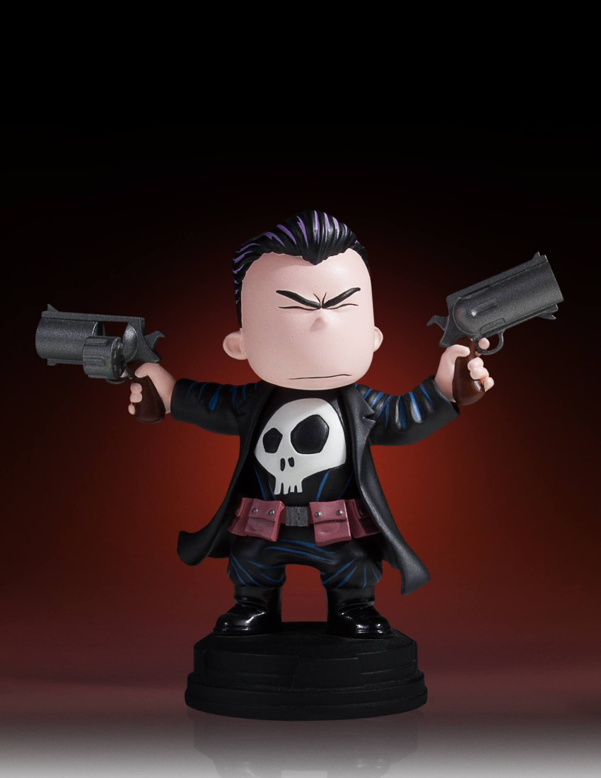 Gentle Giant Punisher Animated Statue 001