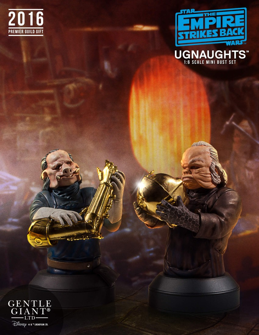 Gentle Giant Ugnaught Mini Bust 2 Pack 001