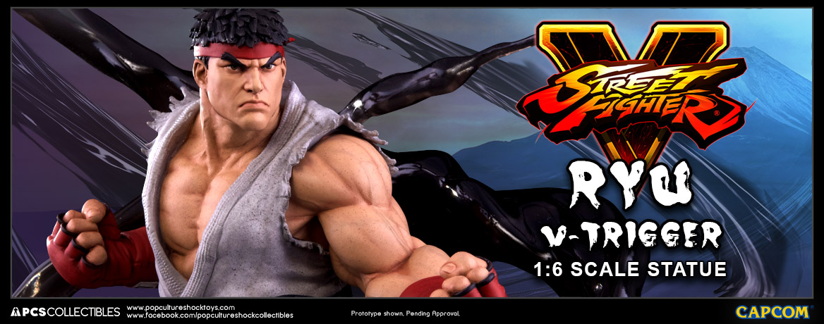 PCS Street Fighter V Ryu Statue 002