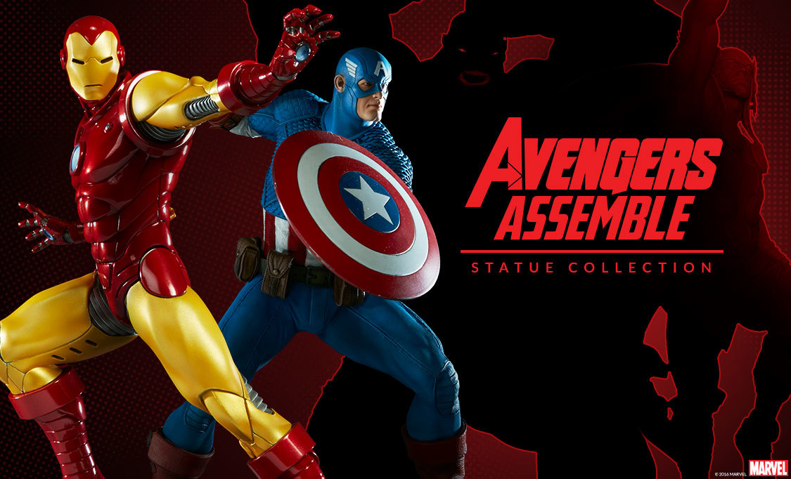 Avengers Assemble Statue Preview 1