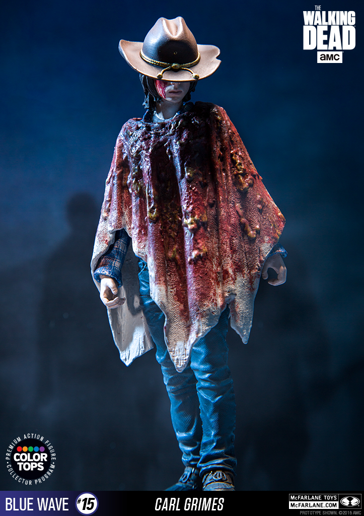 McFarlane Color Tops Carl Grimes 002