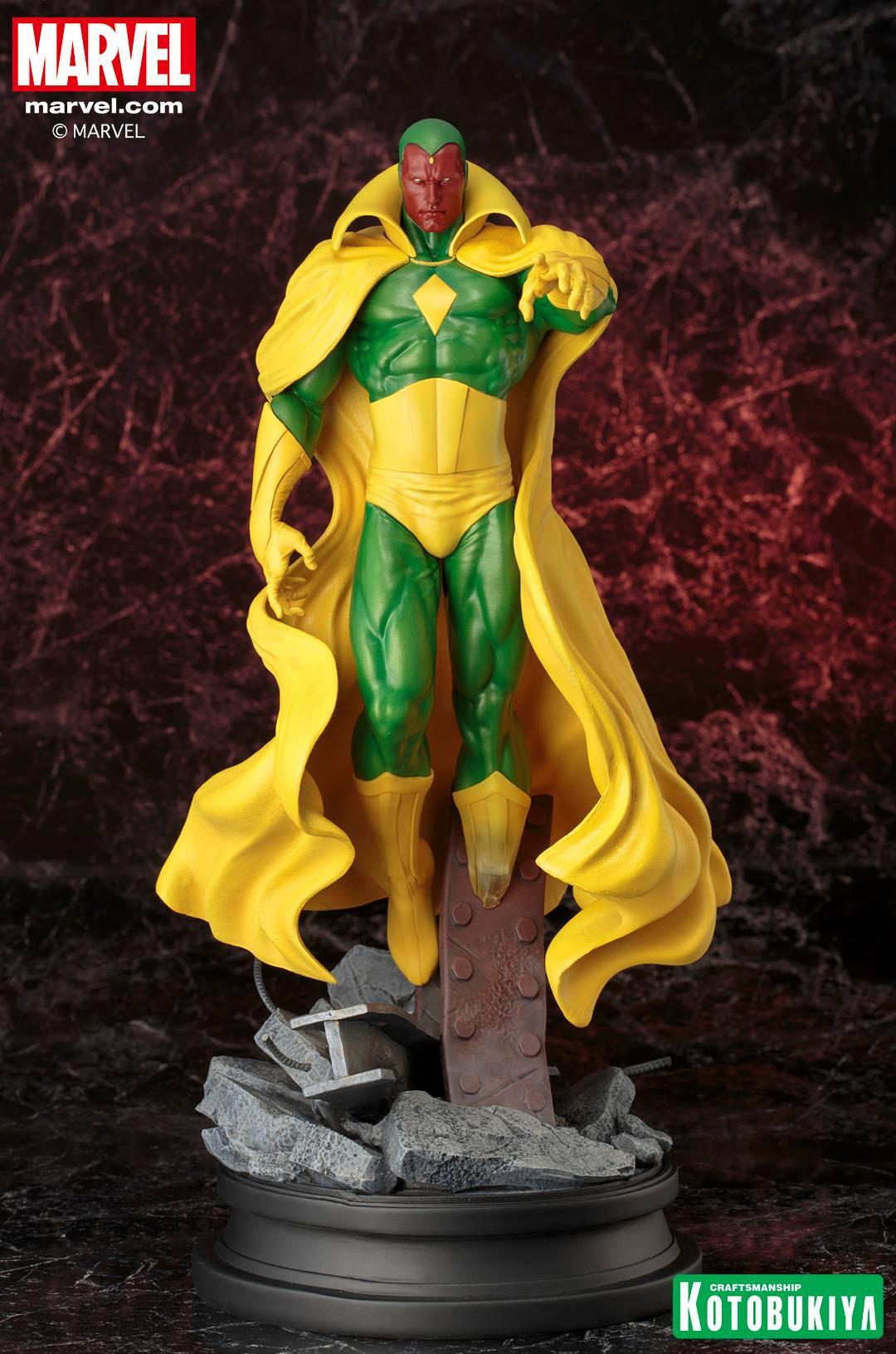 Marvel Comics Vision Fine Art Statue 001