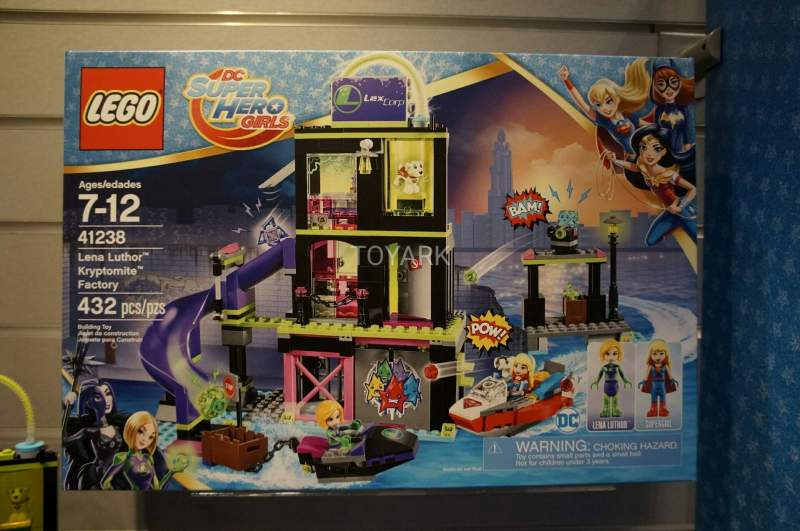 Lena Luthor Kryptomite Factory Lego DC Super Hero Girls Playset Lego 41238 Toy Fair 2017