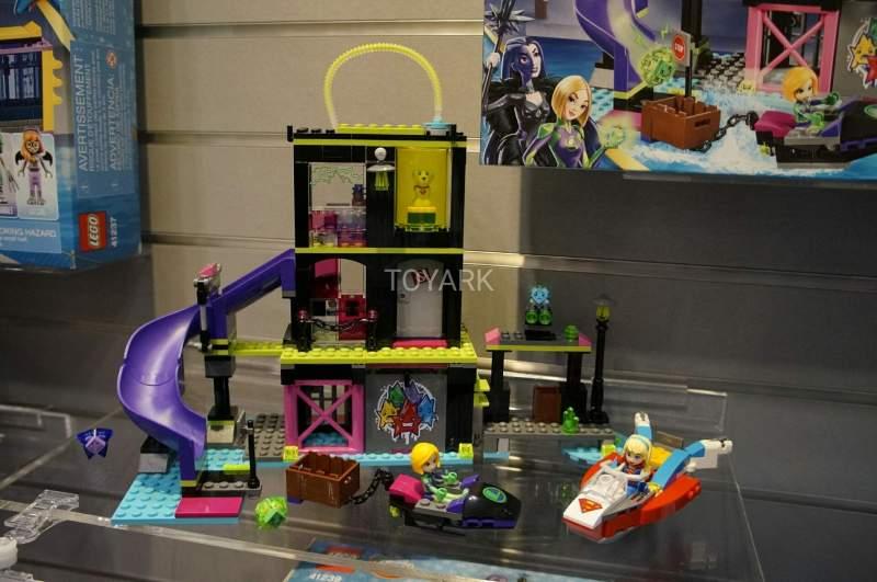 Lego DC Super Hero Girls Lena Luthor Kryptomite Toy Fair 2017