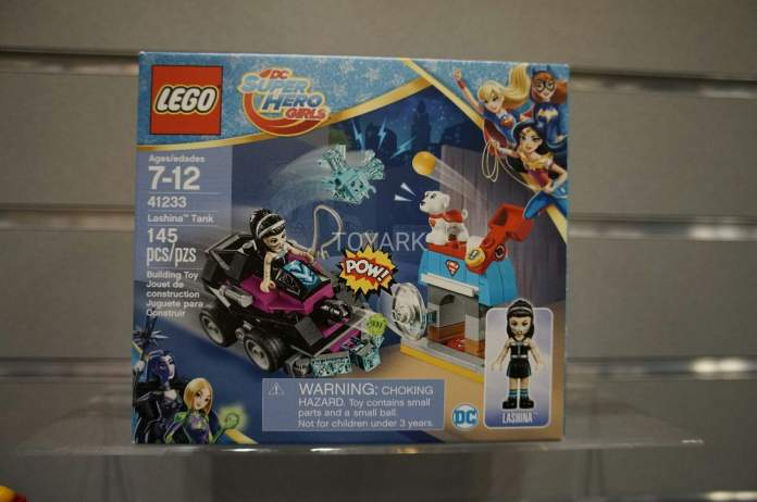 41233 Lego Set DC Super Hero Girls Lashina Tank Toy Fair 2017