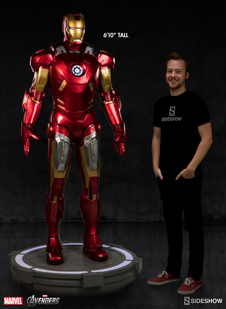 Details For The Sideshow Life Size Iron Man Mark VII Armor
