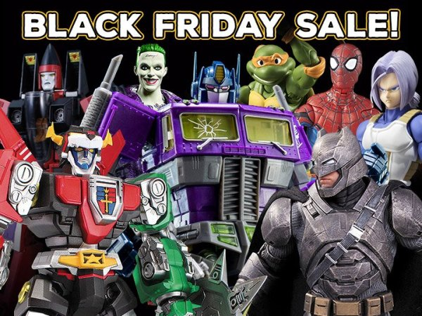 Big Bad Toy Store Black Friday Sale - The Toyark - News