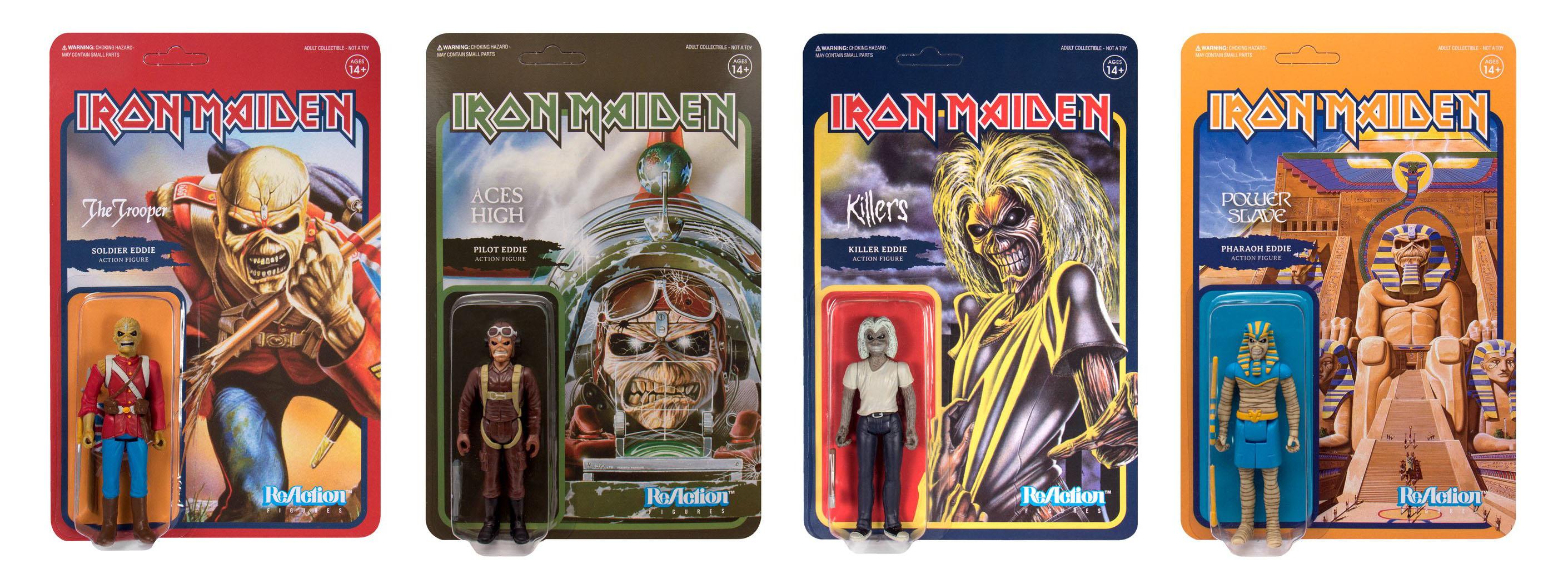 Iron Maiden ReAction Figures Available Now The Toyark News